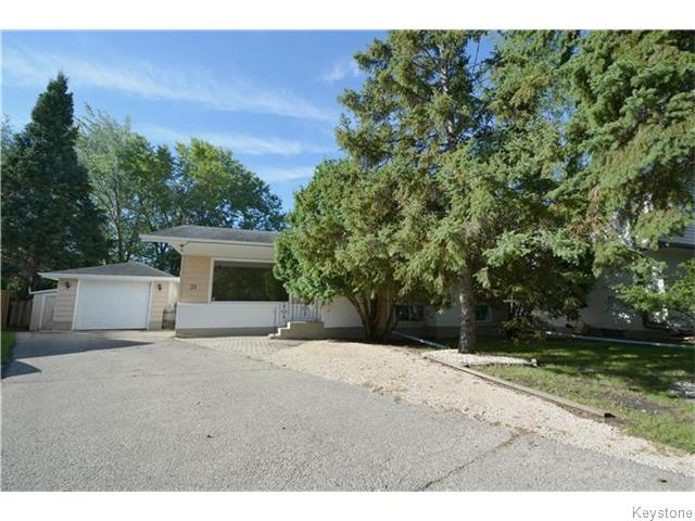 Main Photo: 31 Pontiac Bay in Winnipeg: Residential for sale (5G)  : MLS® # 1622373