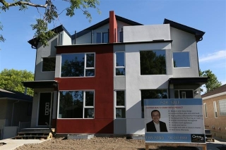 Main Photo: 9308 74 Avenue in Edmonton: Zone 17 House Half Duplex for sale : MLS(r) # E4045043