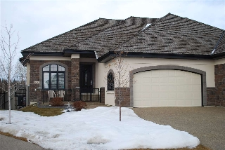 Main Photo: 3020 WATSON Landing in Edmonton: Zone 56 House Half Duplex for sale : MLS(r) # E4055863