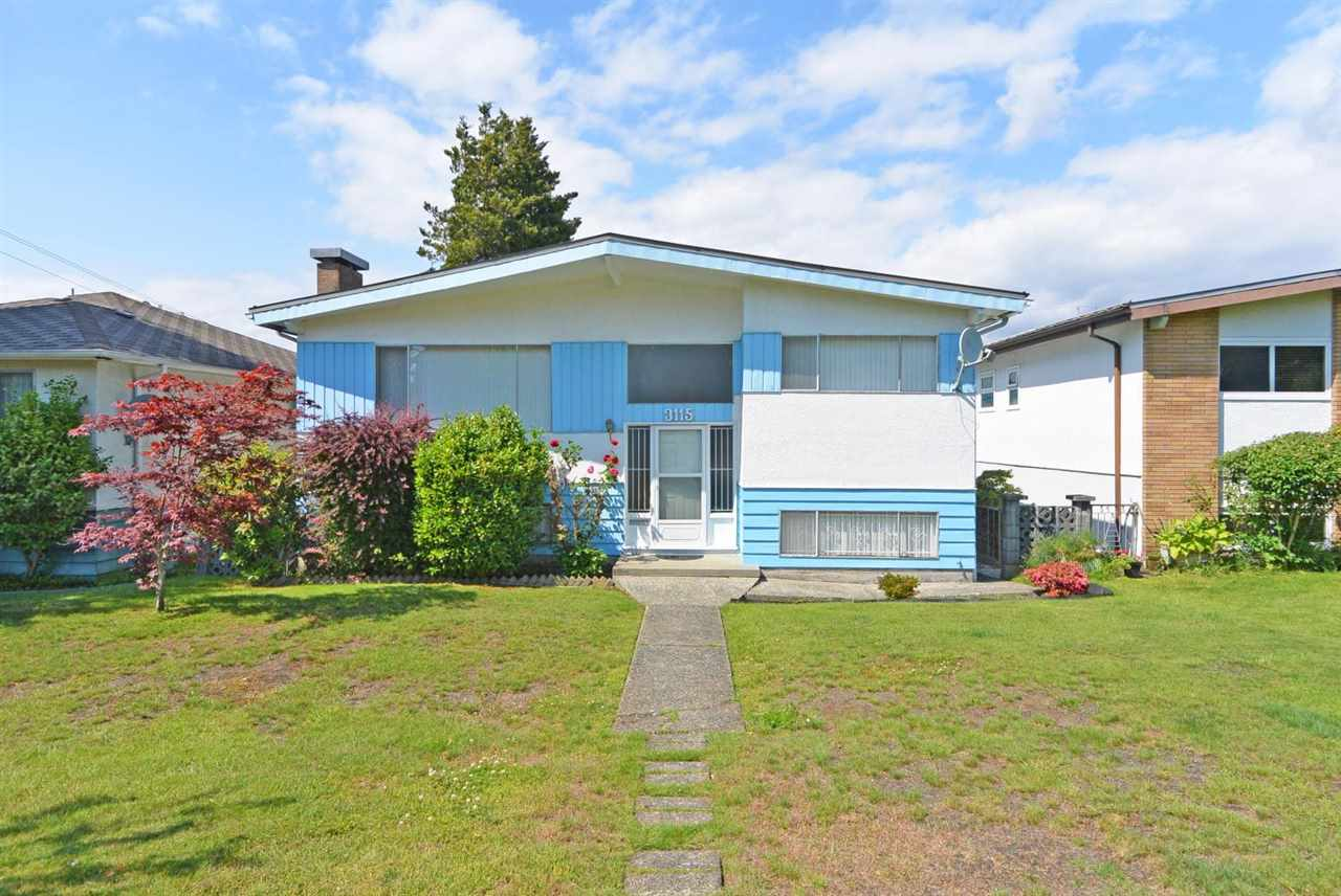 Main Photo: 3115 E 15TH Avenue in Vancouver: Renfrew Heights House for sale (Vancouver East)  : MLS(r) # R2177927