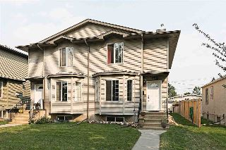 Main Photo: 12917 123 Street NW in Edmonton: Zone 01 House Half Duplex for sale : MLS® # E4084292