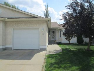 Main Photo: 10 9375 172 Street in Edmonton: Zone 20 House Half Duplex for sale : MLS®# E4123373