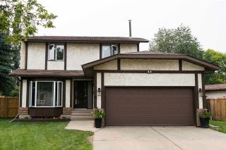 Main Photo: 41 PATTERSON Crescent: St. Albert House for sale : MLS®# E4124713
