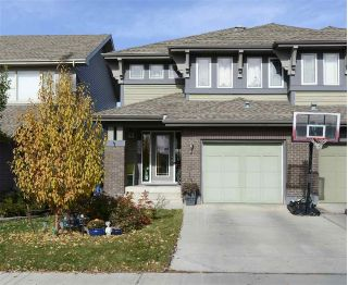 Main Photo: 2287 Austin Way in Edmonton: Zone 56 House Half Duplex for sale : MLS®# E4133036