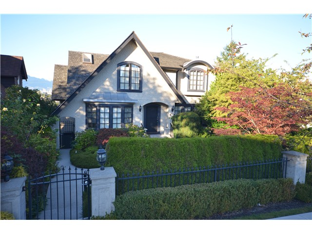 Main Photo: 4318 QUESNEL Drive in Vancouver: Arbutus House for sale (Vancouver West)  : MLS® # V970168