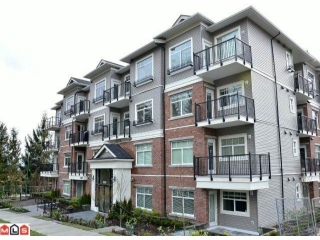 Main Photo: 308 19530 65 Avenue in Surrey: Clayton Condo for sale (Cloverdale)  : MLS®# F1211577