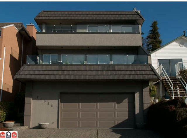 Main Photo: 14935  BEACHVIEW AV in White_Rock: White Rock House for sale (South Surrey White Rock)  : MLS® # F1107367