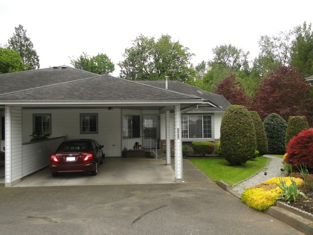 "Main Photo: 11 3351 HORN Street in Abbotsford: Central Abbotsford Townhouse for sale in ""EVANSBROOK ESTATES"" : MLS® # F1439966"