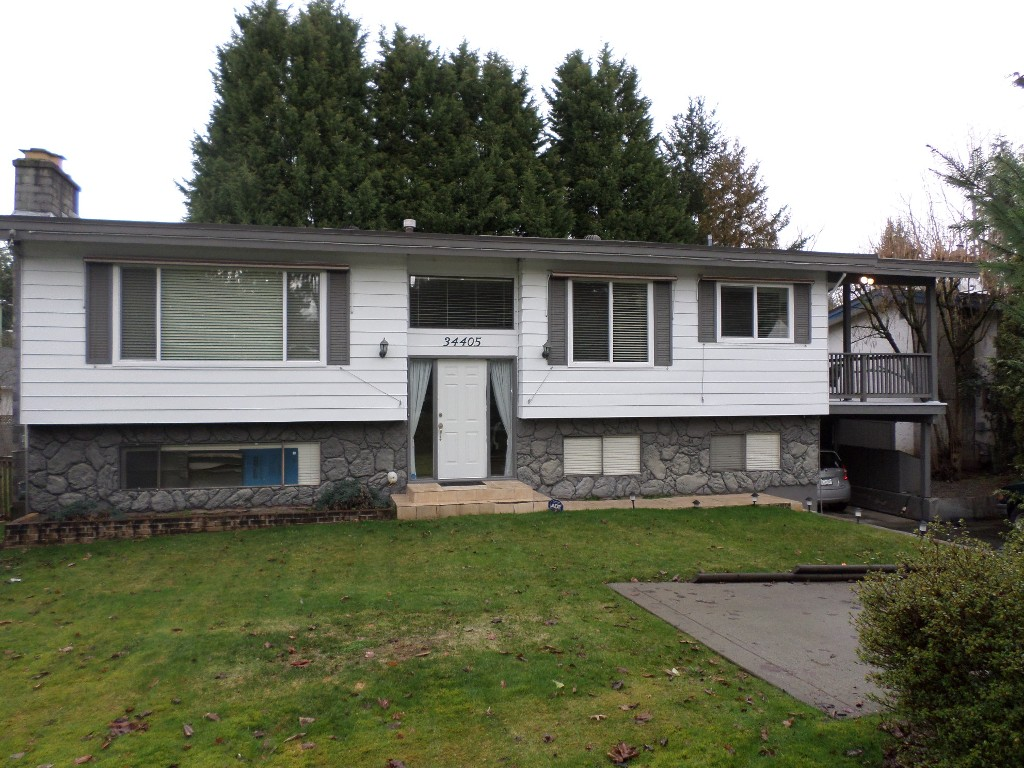 Main Photo: 34405 IMMEL Street in Abbotsford: Abbotsford East House for sale : MLS® # R2035991
