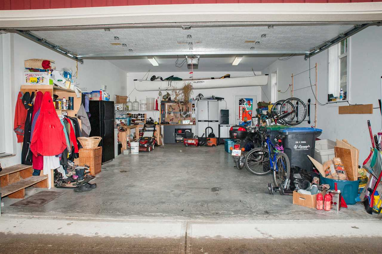 The Squamish Garage....all toys! This one is oversized - over 30 feet deep!