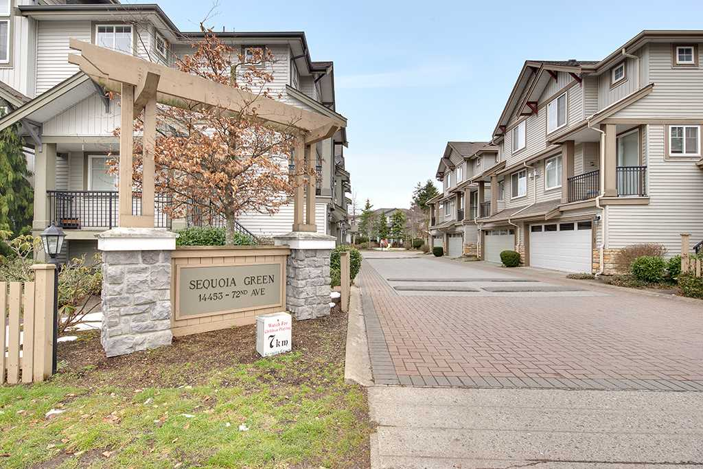 Main Photo: 25 14453 72 Avenue in Surrey: East Newton Townhouse for sale : MLS® # R2145405
