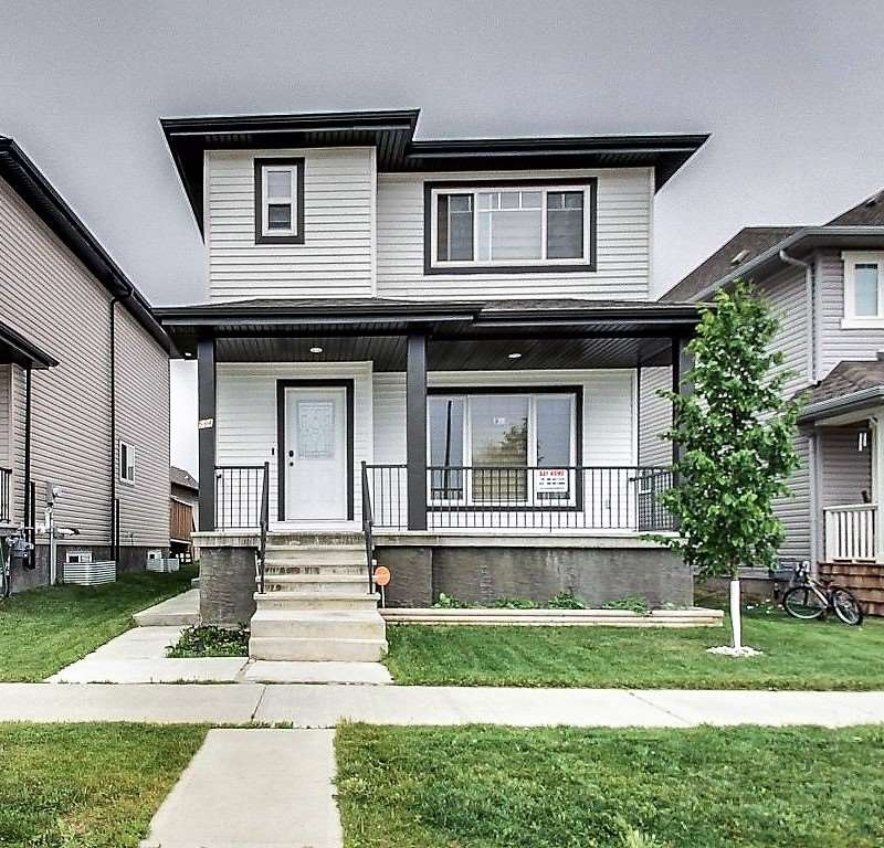 Main Photo: 594 TAMARACK Road in Edmonton: Zone 30 House for sale : MLS® # E4074477