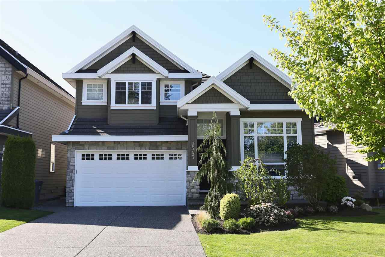 "Main Photo: 3543 ROSEMARY HEIGHTS Drive in Surrey: Morgan Creek House for sale in ""Rosemary Heights"" (South Surrey White Rock)  : MLS(r) # R2191591"