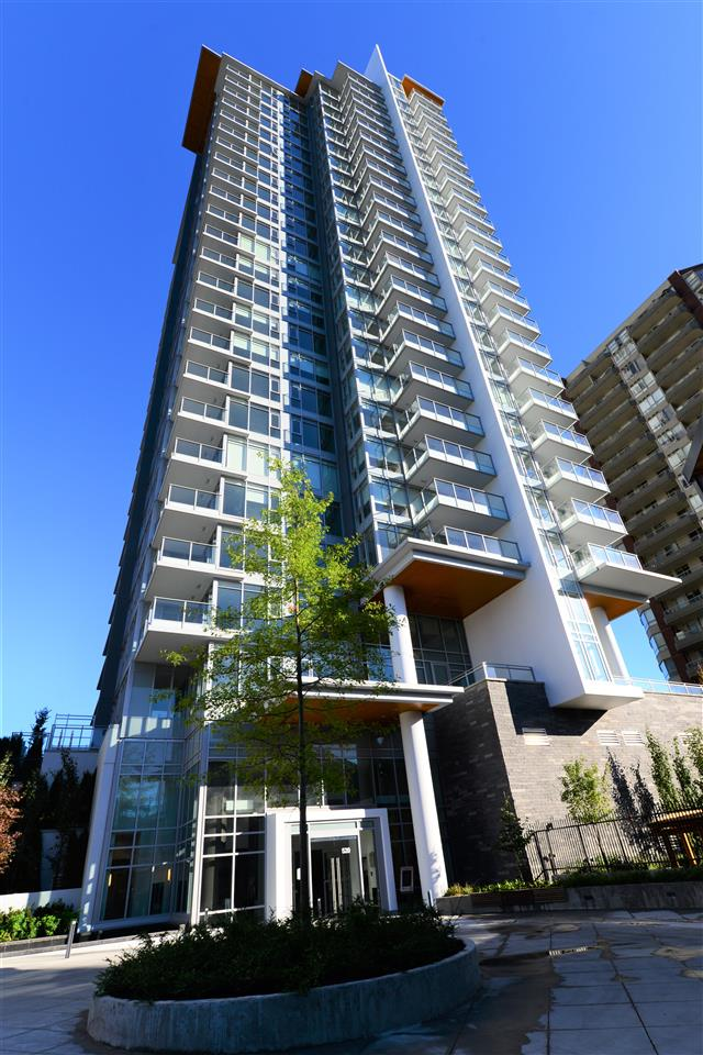 "Main Photo: 1409 520 COMO LAKE Avenue in Coquitlam: Coquitlam West Condo for sale in ""THE CROWN"" : MLS® # R2201094"