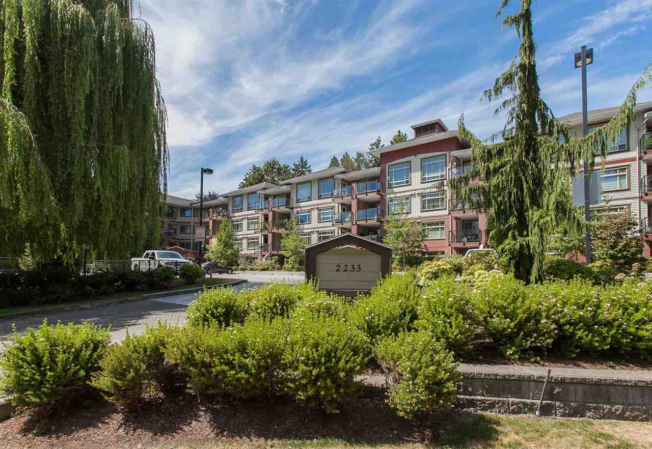 "Main Photo: 431 2233 MCKENZIE Road in Abbotsford: Central Abbotsford Condo for sale in ""LATITUDE"" : MLS®# R2227946"