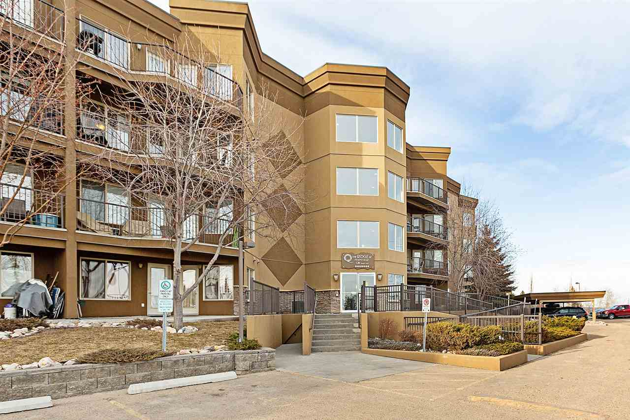 Main Photo: 332 530 HOOKE Road NW in Edmonton: Zone 35 Condo for sale : MLS®# E4105573