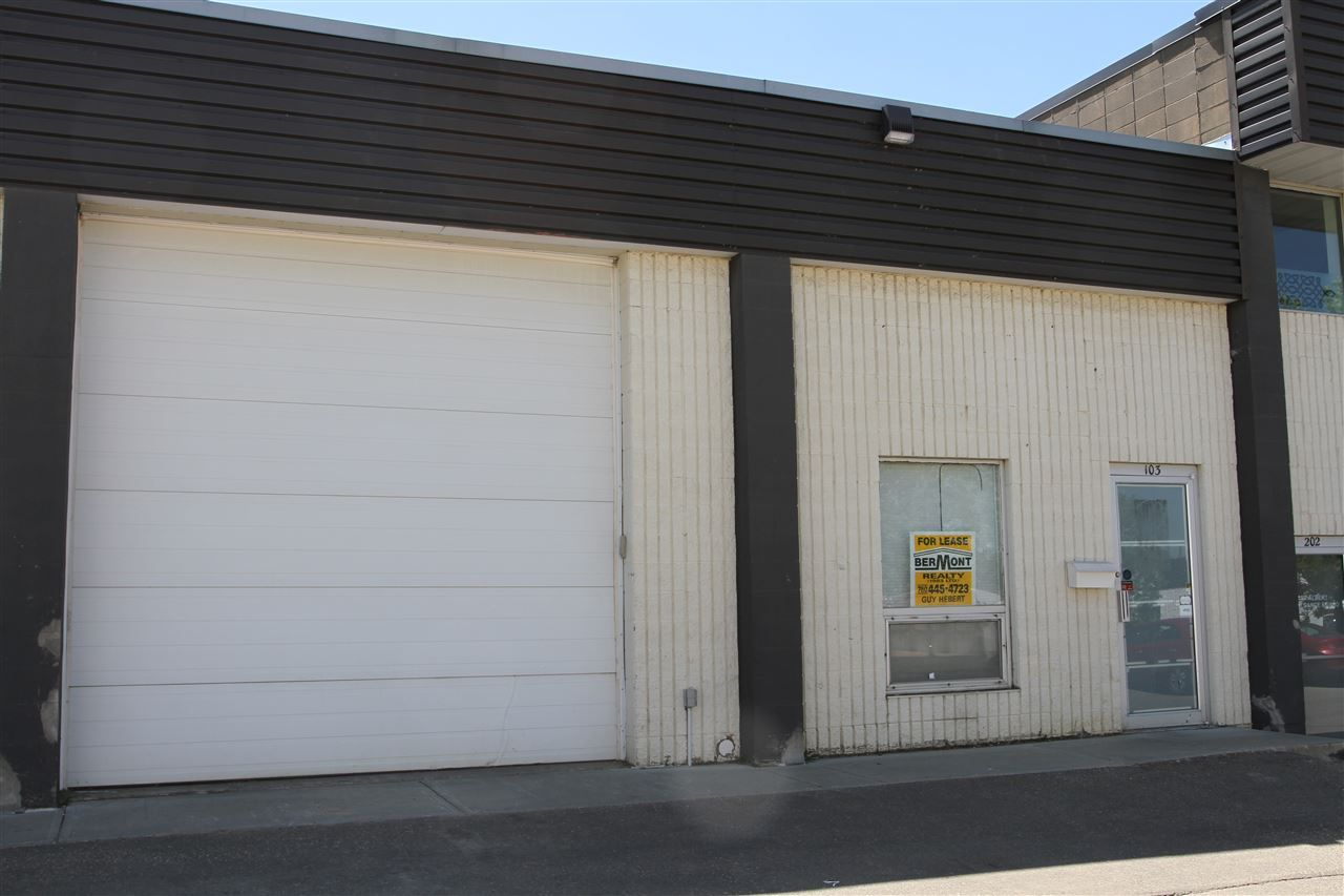 Main Photo: 103 18 RAYBORN Crescent: St. Albert Industrial for lease : MLS®# E4117065