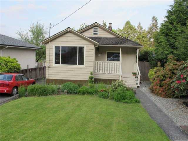 Main Photo: 570 COLBY Street in New Westminster: The Heights NW House  : MLS(r) # V893424
