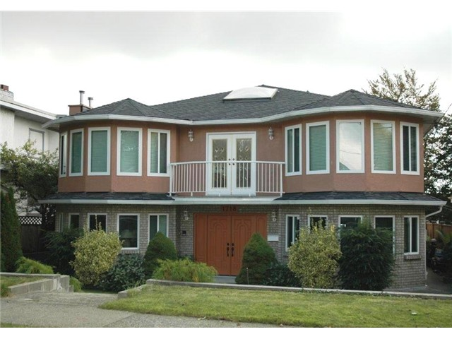 Main Photo: 1718 EDINBURGH Street in New Westminster: West End NW House for sale : MLS(r) # V1033559