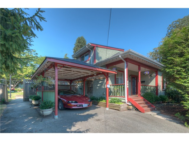 "Main Photo: 223 MANITOBA Street in New Westminster: Queens Park House for sale in ""QUEENS PARK"" : MLS® # V1085735"