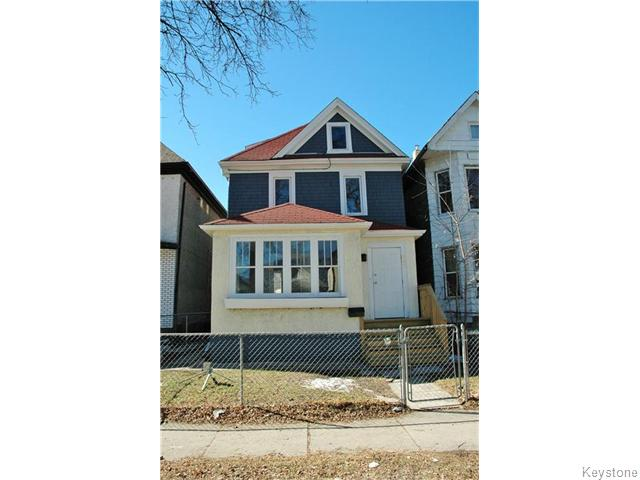 Main Photo: 502 Simcoe Street in WINNIPEG: West End / Wolseley Residential for sale (West Winnipeg)  : MLS® # 1521355