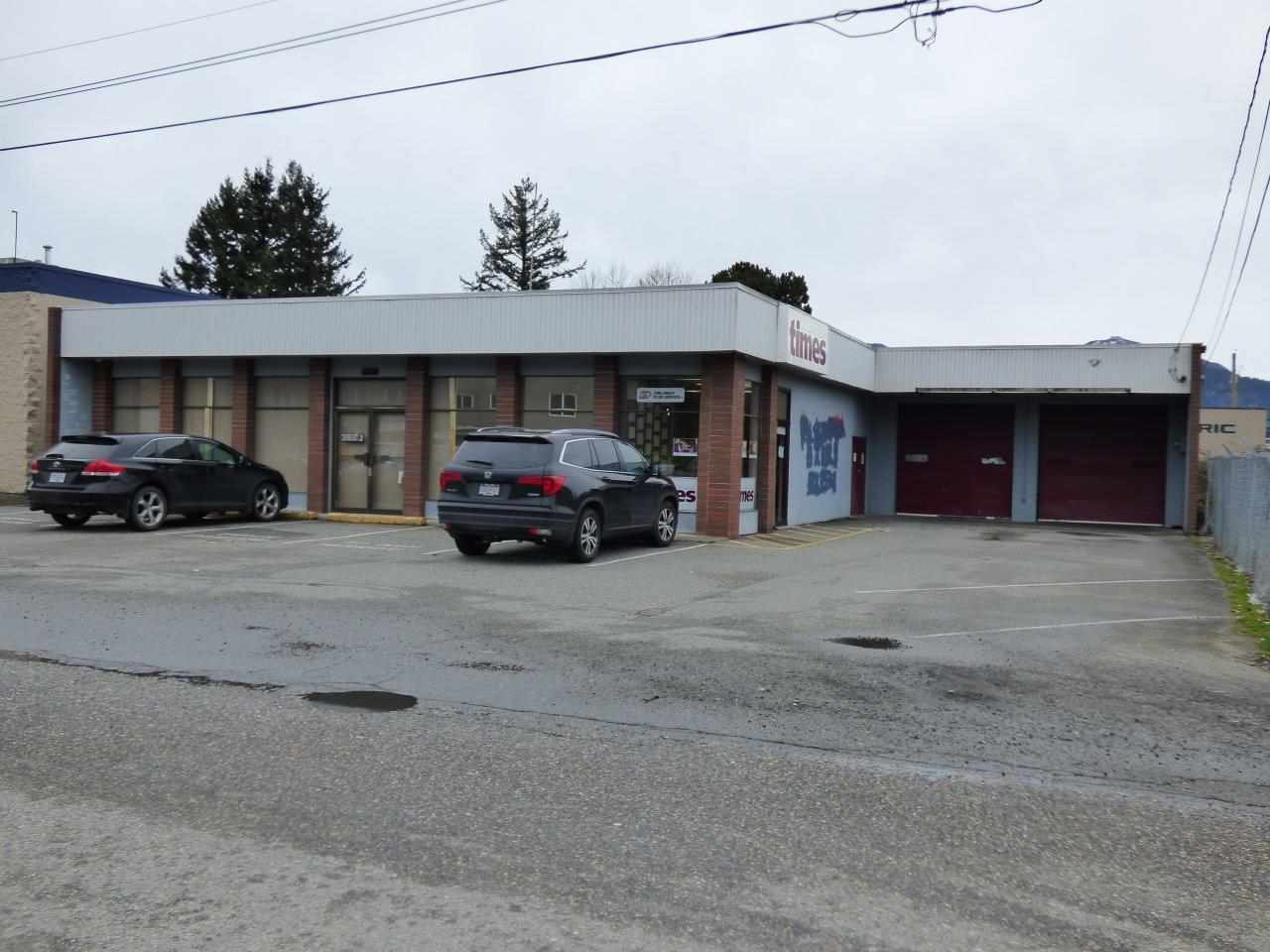 Main Photo: 45951 TRETHEWEY Avenue in Chilliwack: Chilliwack W Young-Well Commercial for sale : MLS® # C8004136
