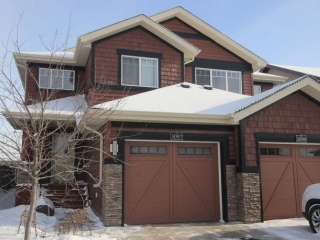 Main Photo: 3097 Whitelaw Drive in Edmonton: Zone 56 House Half Duplex for sale : MLS(r) # E4055336