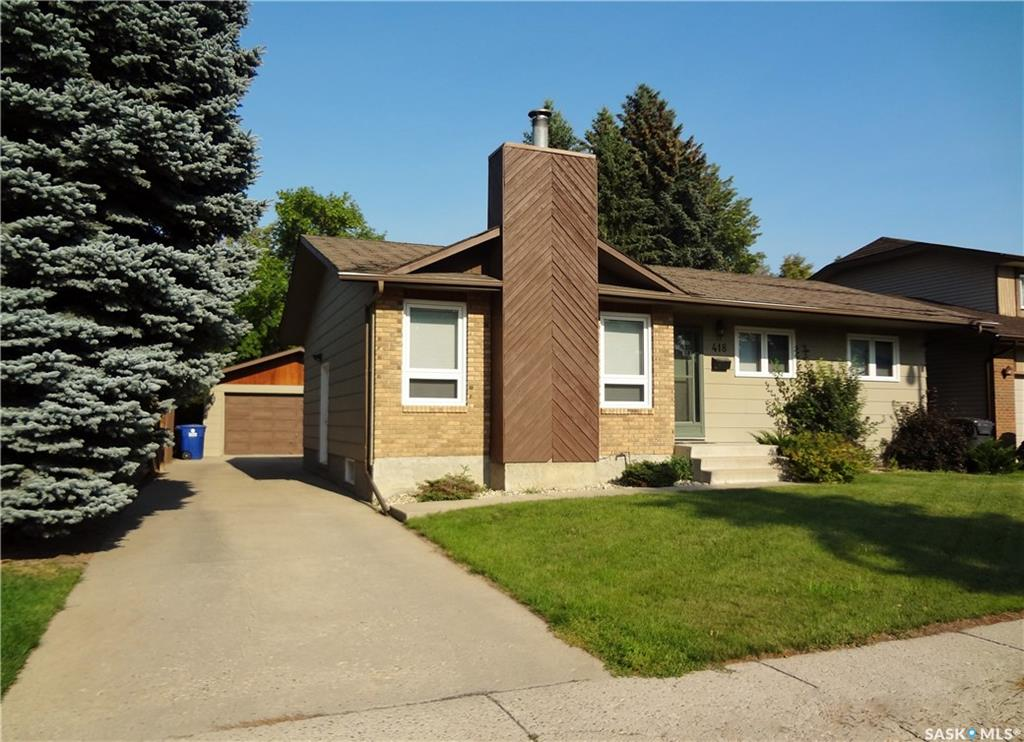 Main Photo: 418 Costigan Road in Saskatoon: Lakeview SA Residential for sale : MLS® # SK701524