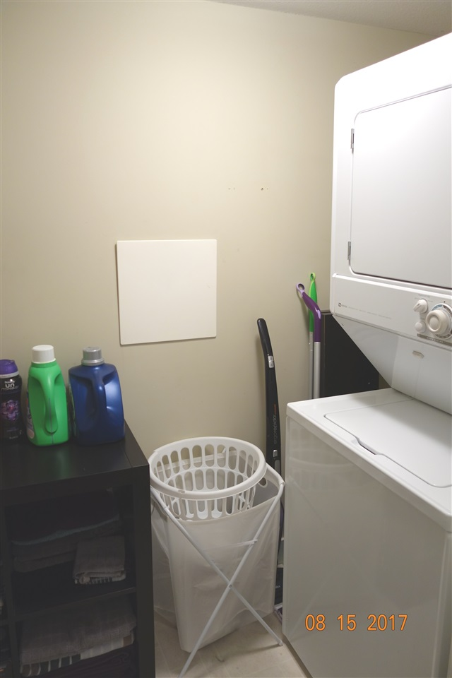 In-suite laundry room, great as extra storage space!