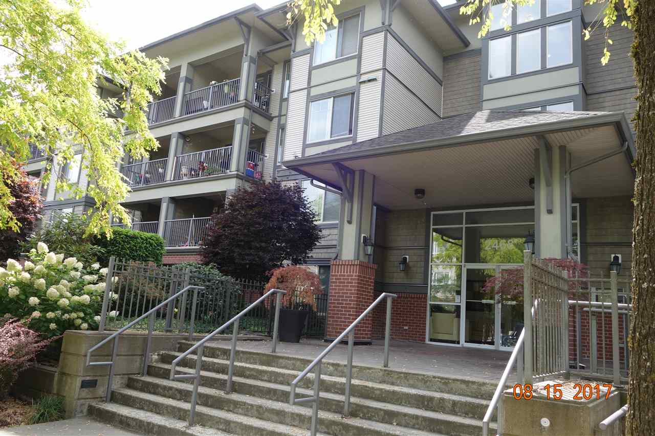 "Main Photo: 218 2468 ATKINS Avenue in Port Coquitlam: Central Pt Coquitlam Condo for sale in ""BORDEAUX"" : MLS® # R2198175"