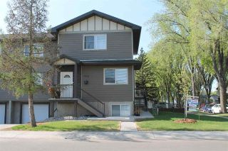 Main Photo: 9213 123 Avenue in Edmonton: Zone 05 House Half Duplex for sale : MLS®# E4105349
