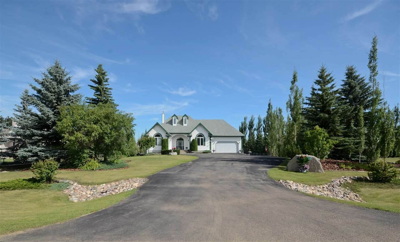Main Photo: 44 26106 TWP RD 532A Road: Rural Parkland County House for sale : MLS®# E4109527