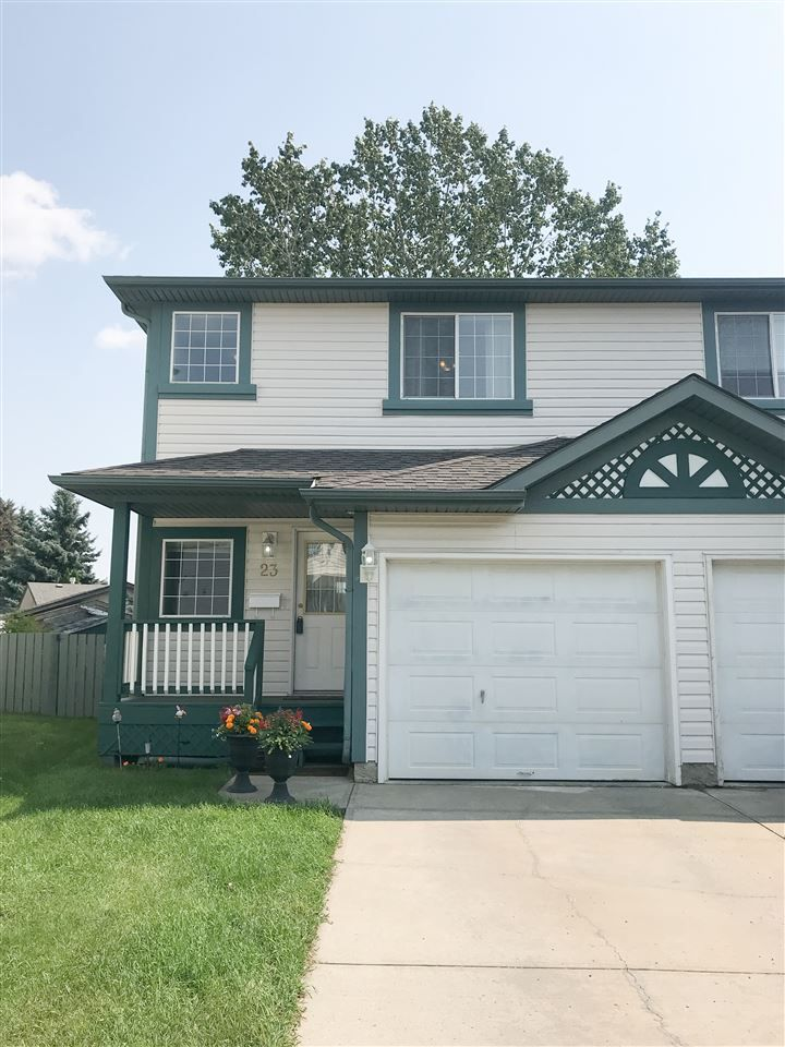 Main Photo: 23 15215 126 Street in Edmonton: Zone 27 House Half Duplex for sale : MLS®# E4114771