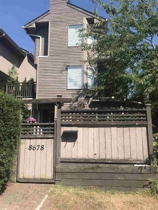 Main Photo: 8678 SW MARINE Drive in Vancouver: Marpole Townhouse for sale (Vancouver West)  : MLS®# R2295192