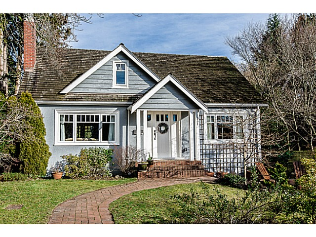 Main Photo: 331 ARBUTUS Street in New Westminster: Queens Park House for sale : MLS® # V1101805