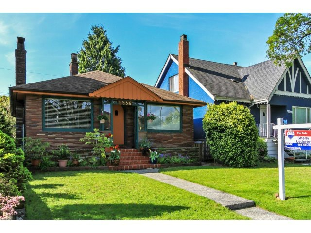 "Main Photo: 2586 WILLIAM Street in Vancouver: Renfrew VE House for sale in ""HASTINGS SUNRISE AREA"" (Vancouver East)  : MLS® # V1117761"