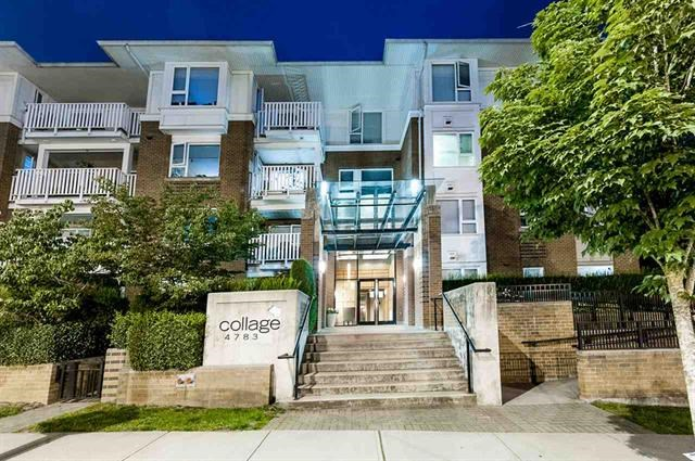 "Main Photo: 410 4783 DAWSON Street in Burnaby: Brentwood Park Condo for sale in ""COLLAGE"" (Burnaby North)  : MLS®# R2095260"