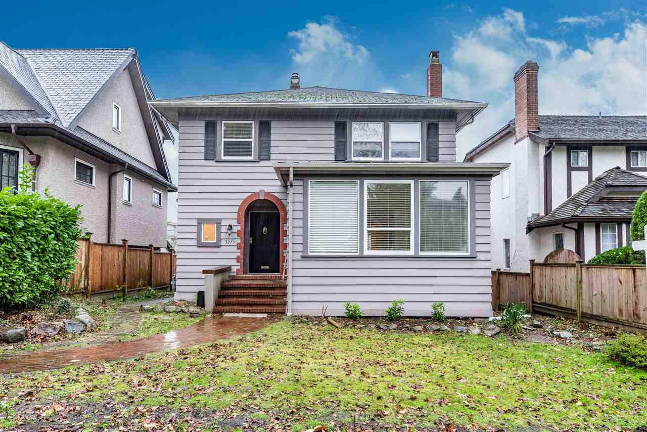 Main Photo: 3275 W 22ND Avenue in Vancouver: Dunbar House for sale (Vancouver West)  : MLS® # R2124844