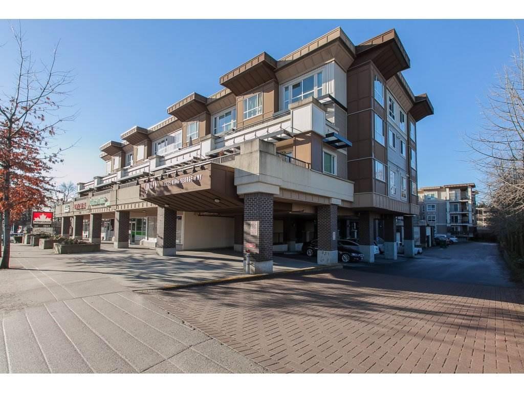 "Main Photo: 322 9655 KING GEORGE Boulevard in Surrey: Whalley Condo for sale in ""GRUV"" (North Surrey)  : MLS(r) # R2134761"