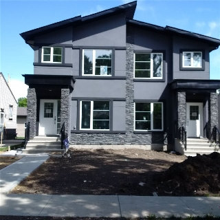 Main Photo: 10427 146 Street in Edmonton: Zone 21 House Half Duplex for sale : MLS® # E4068646