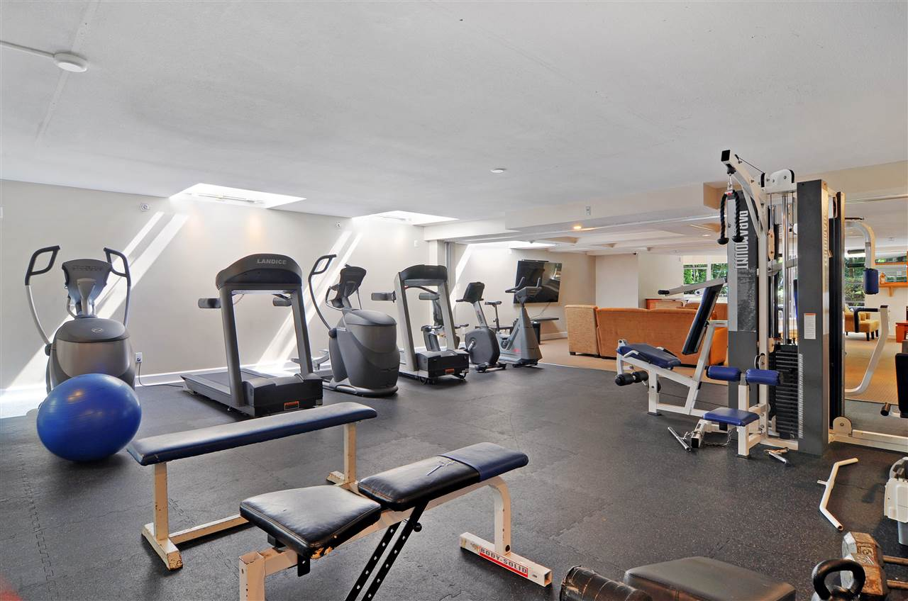 Imagine having this gym just1 floor below you.