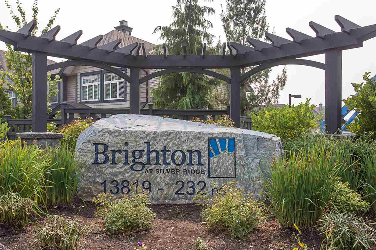 "Main Photo: 29 13819 232 Street in Maple Ridge: Silver Valley Townhouse for sale in ""BRIGHTON"" : MLS® # R2204609"