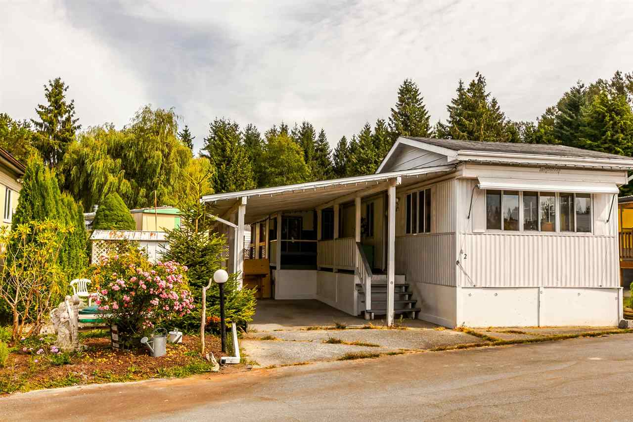Main Photo: 42 201 CAYER Street in Coquitlam: Maillardville Manufactured Home for sale : MLS® # R2204853