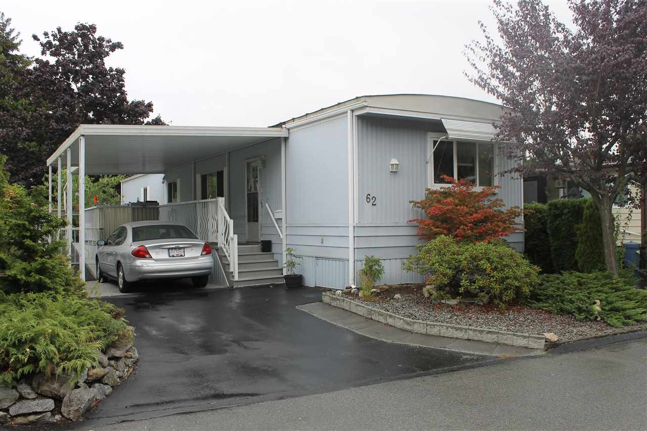 "Main Photo: 62 15875 20 Avenue in Surrey: King George Corridor Manufactured Home for sale in ""SEA RIDGE BAYS"" (South Surrey White Rock)  : MLS® # R2208444"