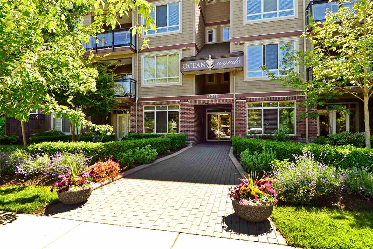 "Main Photo: 207 15368 17A Avenue in Surrey: King George Corridor Condo for sale in ""Ocean Wynde"" (South Surrey White Rock)  : MLS®# R2286019"