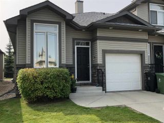 Main Photo: 19 10 Woodcrest Lane: Fort Saskatchewan Townhouse for sale : MLS®# E4122847
