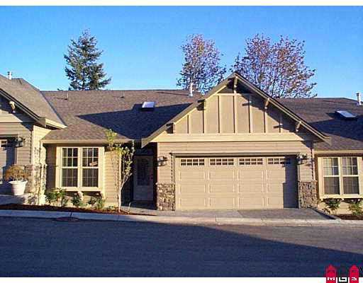 "Main Photo: 2 2842 WHATCOM RD in Abbotsford: Sumas Prairie Townhouse for sale in ""Forest Ridge"" : MLS® # F2608964"
