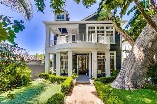 Main Photo: CORONADO VILLAGE House for sale : 6 bedrooms : 1220 Churchill Place in Coronado
