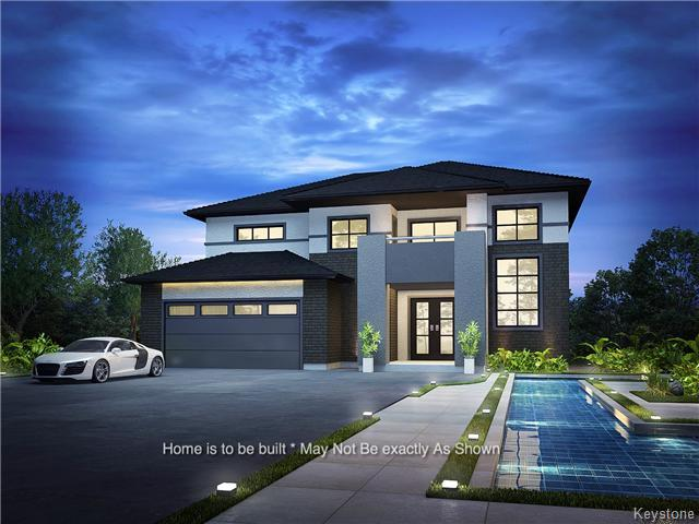 Home will feature 3 car garage * May not be exactly as shown*Home is to Be Built And Custom Designed*
