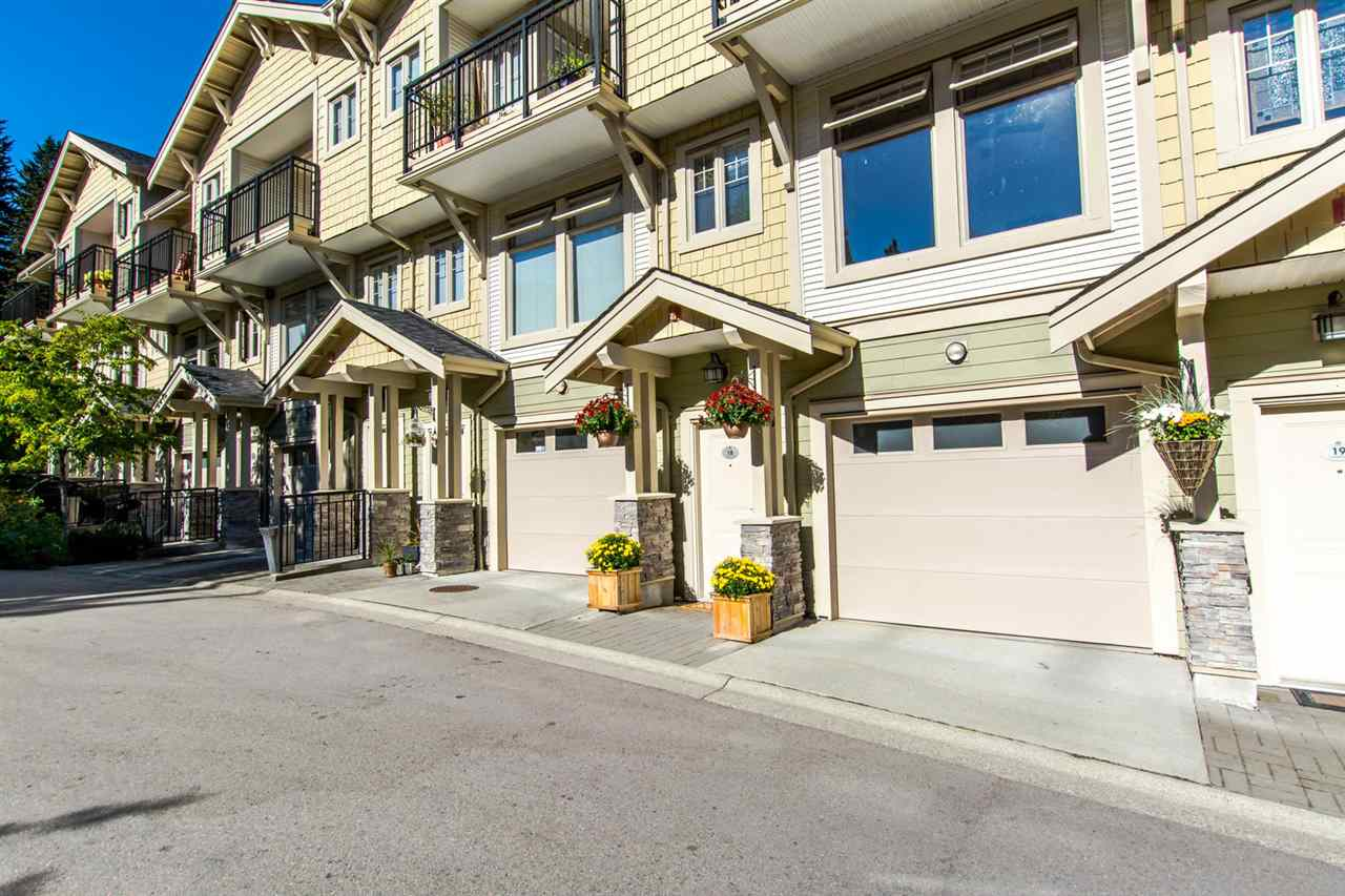 Main Photo: 18 245 FRANCIS Way in New Westminster: Fraserview NW Townhouse for sale : MLS® # R2108522
